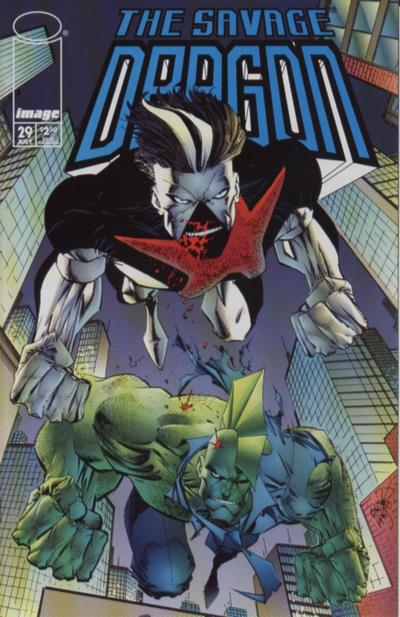 Cover for Savage Dragon (Image, 1993 series) #29