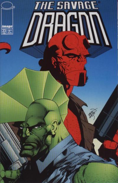 Cover for Savage Dragon (Image, 1993 series) #35