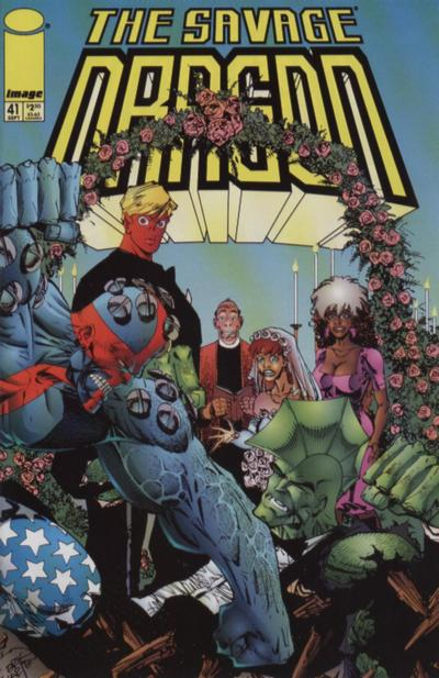 Cover for Savage Dragon (Image, 1993 series) #41