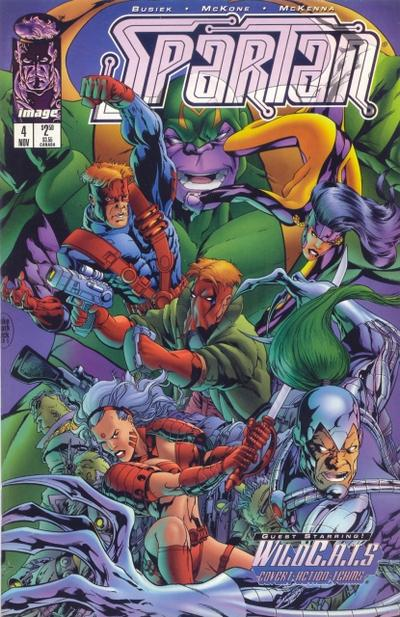 Cover for Spartan: Warrior Spirit (Image, 1995 series) #4
