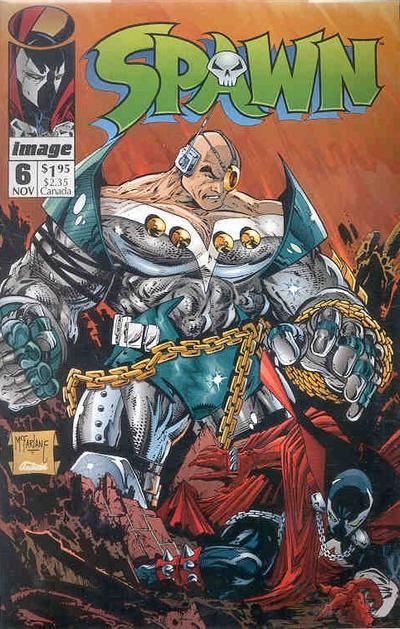 Cover for Spawn (Image, 1992 series) #6 [Direct]