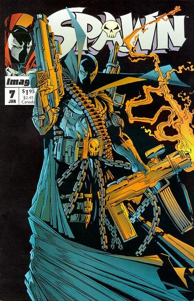 Cover for Spawn (Image, 1992 series) #7