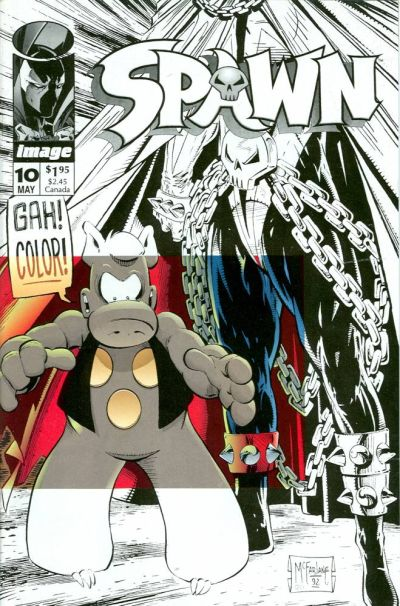 Cover for Spawn (Image, 1992 series) #10 [Direct]