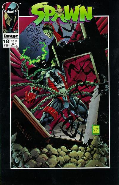 Cover for Spawn (Image, 1992 series) #18
