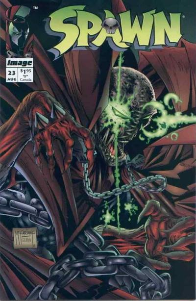 Cover for Spawn (Image, 1992 series) #23