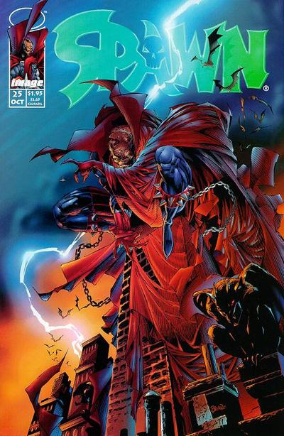 Cover for Spawn (Image, 1992 series) #25