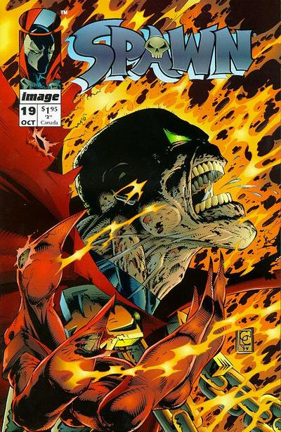 Cover for Spawn (Image, 1992 series) #19