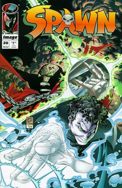 Cover for Spawn (Image, 1992 series) #20