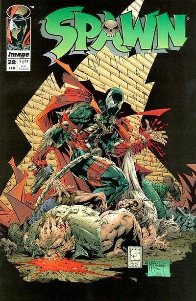 Cover for Spawn (Image, 1992 series) #28