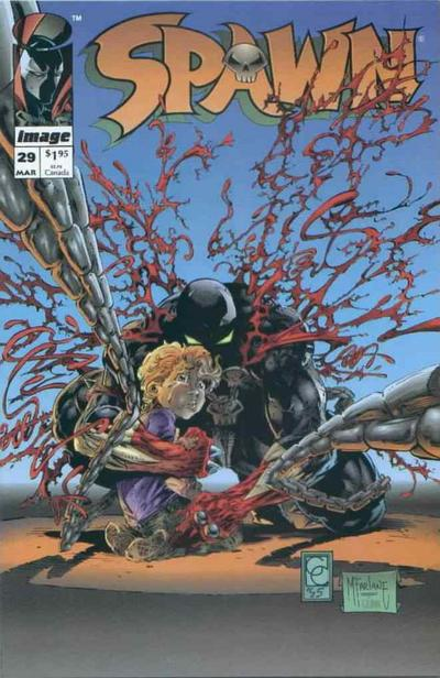 Cover for Spawn (Image, 1992 series) #29
