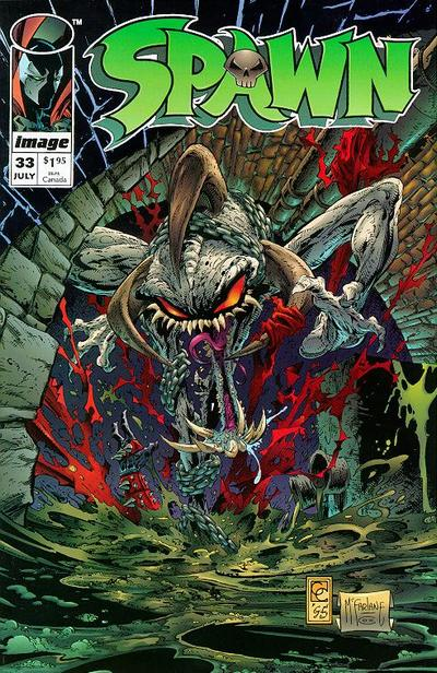 Cover for Spawn (Image, 1992 series) #33
