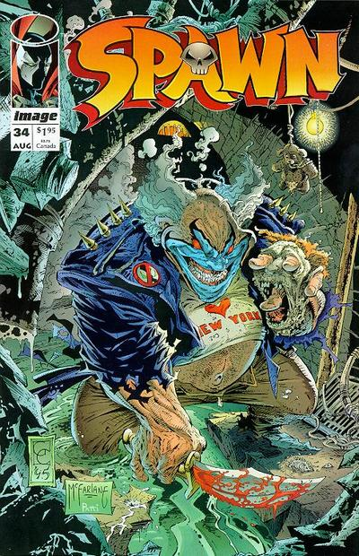 Cover for Spawn (Image, 1992 series) #34