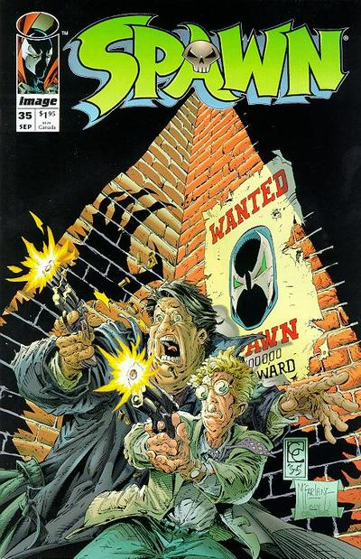 Cover for Spawn (Image, 1992 series) #35