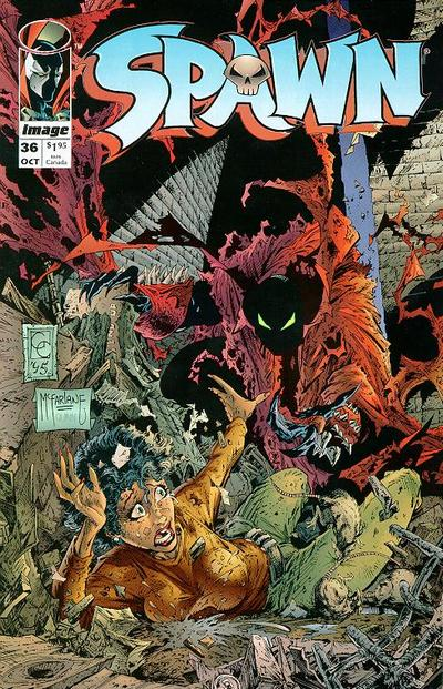 Cover for Spawn (Image, 1992 series) #36