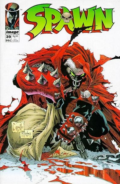 Cover for Spawn (Image, 1992 series) #39