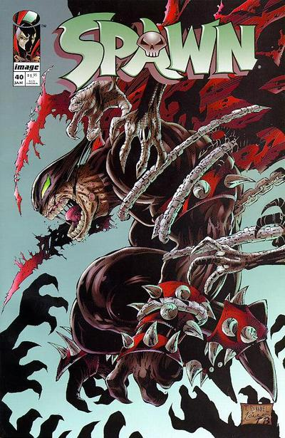 Cover for Spawn (Image, 1992 series) #40