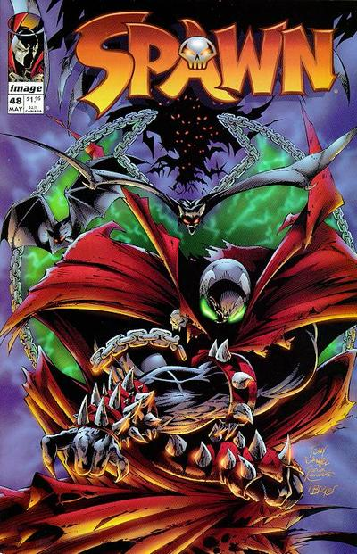 Cover for Spawn (Image, 1992 series) #48