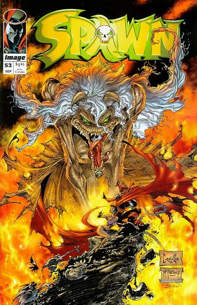 Cover for Spawn (Image, 1992 series) #53
