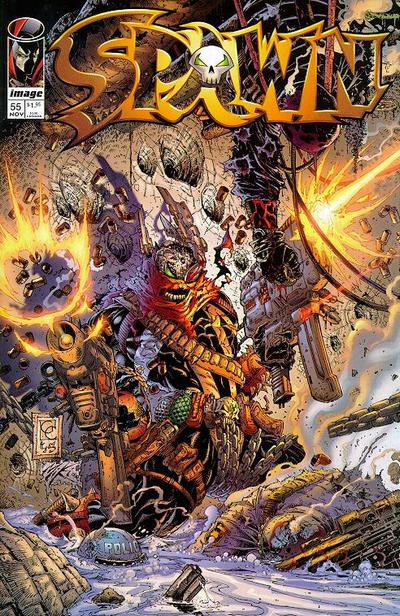 Cover for Spawn (Image, 1992 series) #55