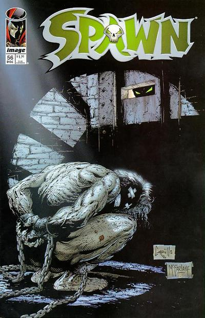 Cover for Spawn (Image, 1992 series) #56