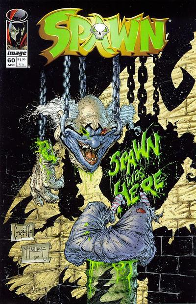 Cover for Spawn (Image, 1992 series) #60
