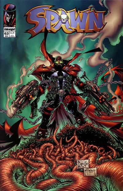 Cover for Spawn (Image, 1992 series) #63