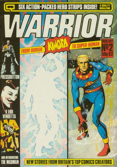Cover for Warrior (Quality Communications, 1982 series) #2