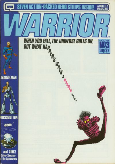Cover for Warrior (Quality Communications, 1982 series) #3