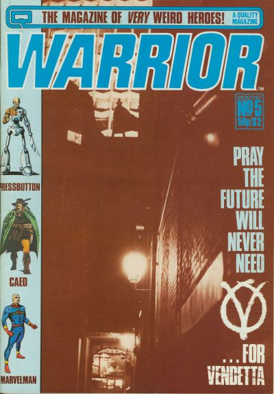 Cover for Warrior (Quality Communications, 1982 series) #5