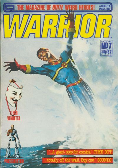 Cover for Warrior (Quality Communications, 1982 series) #7