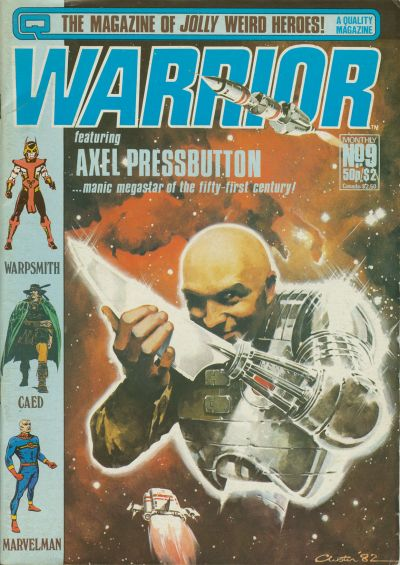 Cover for Warrior (Quality Communications, 1982 series) #9