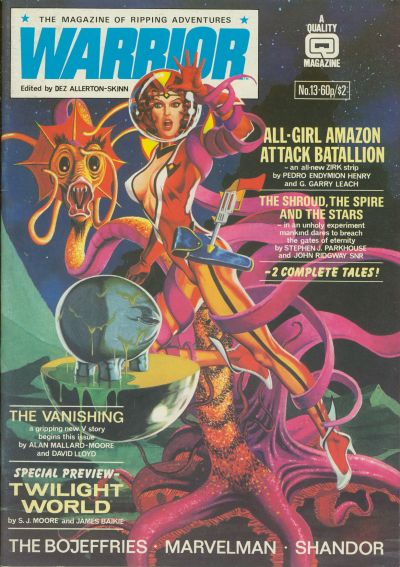 Cover for Warrior (Quality Communications, 1982 series) #13
