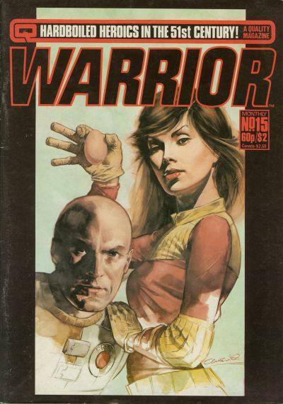 Cover for Warrior (Quality Communications, 1982 series) #15