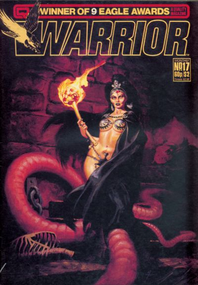 Cover for Warrior (Quality Communications, 1982 series) #17