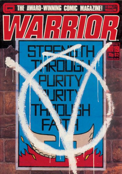 Cover for Warrior (Quality Communications, 1982 series) #19
