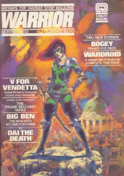 Cover for Warrior (Quality Communications, 1982 series) #22