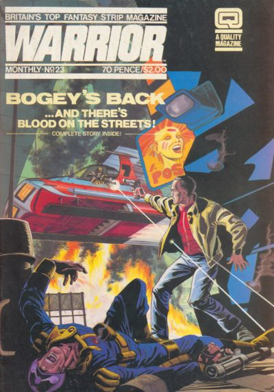 Cover for Warrior (Quality Communications, 1982 series) #23