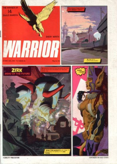 Cover for Warrior (Quality Communications, 1982 series) #26