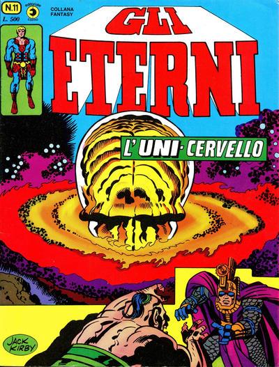 Cover for Gli Eterni (Editoriale Corno, 1978 series) #11