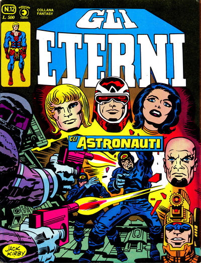 Cover for Gli Eterni (Editoriale Corno, 1978 series) #12