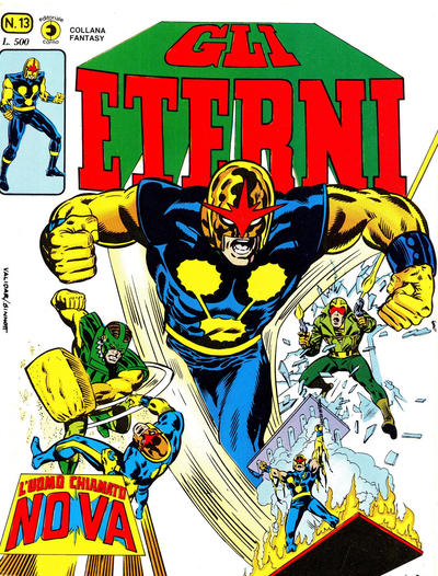 Cover for Gli Eterni (Editoriale Corno, 1978 series) #13