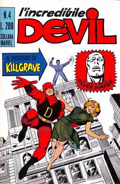 Cover for L'Incredibile Devil (Editoriale Corno, 1970 series) #4