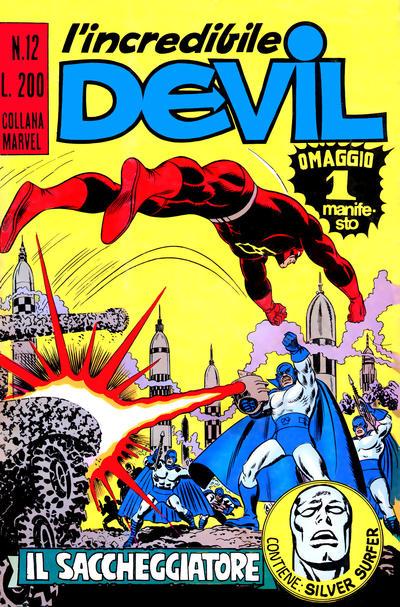 Cover for L' Incredibile Devil (Editoriale Corno, 1970 series) #12