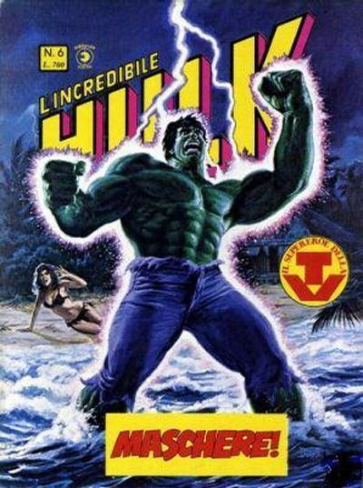 Cover for L'Incredibile Hulk (Editoriale Corno, 1980 series) #6