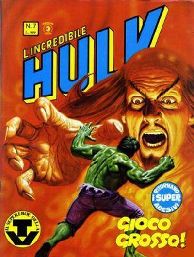 Cover for L'Incredibile Hulk (Editoriale Corno, 1980 series) #7