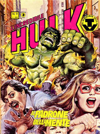 Cover for L'Incredibile Hulk (Editoriale Corno, 1980 series) #9