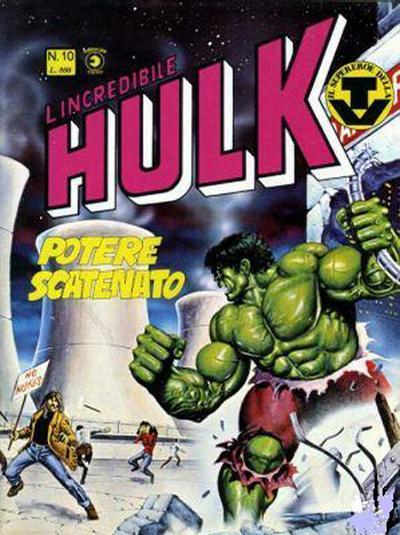 Cover for L'Incredibile Hulk (Editoriale Corno, 1980 series) #10
