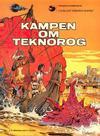 Cover for Linda och Valentins äventyr (Carlsen/if [SE], 1975 series) #2 - Kampen om Teknorog