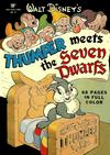 Cover for Four Color (Dell, 1942 series) #19 - Walt Disney's Thumper Meets the Seven Dwarfs