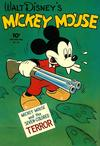 Cover for Four Color (Dell, 1942 series) #27 - Walt Disney's Mickey Mouse